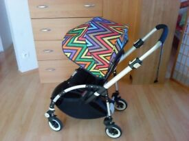 Bugaboo Bee plus with limited edition missoni hood