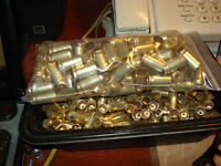 130 45 ACP ONCE FIRED BRASS, TUMBLED