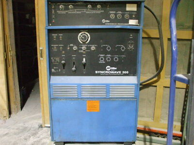 Miller Syncrowave 300 Welder With Ps-1 Programmer