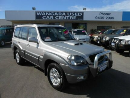 2006 Hyundai Terracan SLX CRDi Silver 4 Speed Automatic Wagon Wangara Wanneroo Area Preview