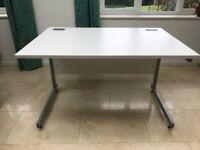White office desks – 4 available