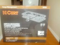 Brand new CURT hitch mounted cargo carrier
