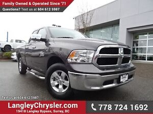 2015 RAM 1500 SLT LOW KMS, LOCALLY DRIVEN & ACCIDENT FREE