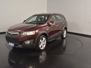 2011 Holden Captiva CG MY10 LX AWD Burgundy 5 Speed Sports Automatic Wagon Victoria Park Victoria Park Area Preview