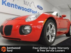 2008 Pontiac Solstice GXP 5-speed manual with a convertible soft
