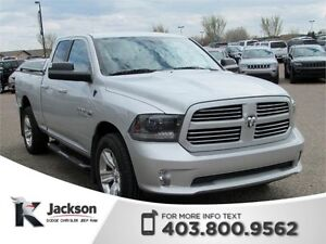 2015 Ram 1500 Sport 4WD - Touchscreen, Bluetooth