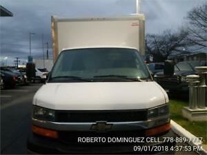 2017 Chevrolet Express Commercial Cutaway  16 FT BOX