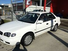 2000 Toyota Corolla AE112R Ascent White 5 Speed Manual Sedan Clontarf Redcliffe Area Preview