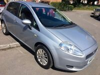 Fiat Punto Dynamic 1.2 5 Door - NEW MOT NO ADVISORIES + Free Warranty!! LOW MILES 2 Owners ONLY!!