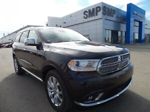 2016 Dodge Durango Citadel 5.7 V8, leather, sunroof, Nav, DVD, S