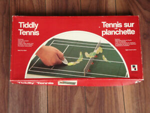 Vintage Tiddly Tennis Game
