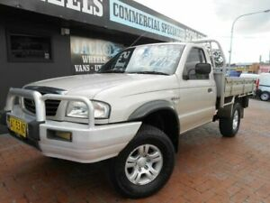 2006 Mazda B2500 MY05 Upgrade Bravo DX (4x4) Gold 5 Speed Manual Freestyle Cab Chassis Croydon Burwood Area Preview