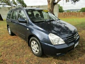 2008 Kia Grand Carnival VQ MY08 EXE Wagon 8st 5dr SA 5sp 3.8i Blue Semi Auto Wagon Invermay Launceston Area Preview