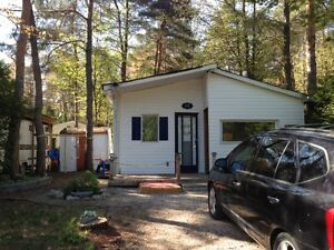Cottage/trailer for sale - fees paid until July 2017