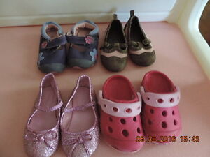 Toddler Girl's Shoes and Sandals Size 4 & 5 London Ontario image 1