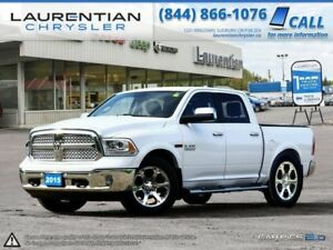 2015 Ram 1500 Laramie ECO-DIESEL-NAVIGATION!! LEATHER!! SUNROOF!