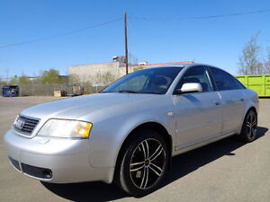 2001 Audi A6 QUATTRO-AWD-2.7L V6-TWIN TURBO-LEATHER-SUNROOF