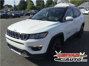 Jeep Compass Limited 4x4 GPS Cuir MAGS 2017
