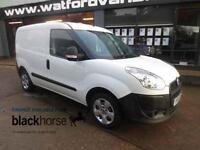 2013 Fiat Doblo 1.3HDi 16V 75ps Diesel white Manual