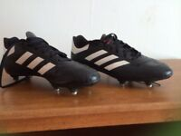 Football boots size 7 Adidas ( as new)
