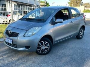 2005 Toyota Yaris NCP90R YR Grey 5 Speed Manual Hatchback St James Victoria Park Area Preview