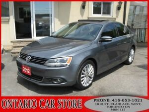 2012 Volkswagen Jetta TDI HIGHLINE LEATHER SUNROOF