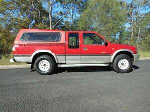 2003 HOLDEN RODEO LT SPORT UTE EXTRA CAB 4X4 AUTO BRISBANE REGO Clear Mountain Pine Rivers Area Preview