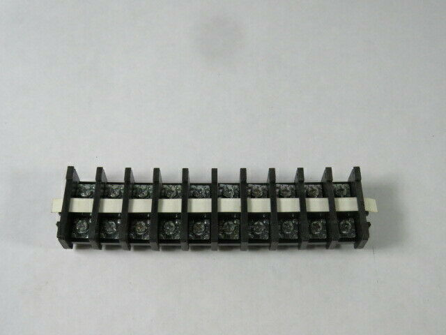 Power Fist 0700339 Terminal Block Barrier Strip 30A 10-Rows  NOP