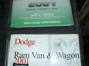 dodge ram va 2001 manuel du propriétaire