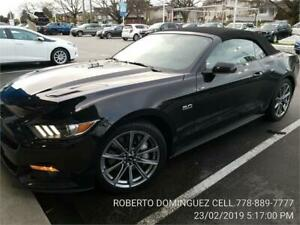 2015 Ford Mustang GT Premium PLUS CONVERTIBLE 6 SPD MAN