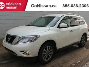 2015 Nissan Pathfinder SL: LEATHER, HEATED STEERING WHEEL AND SE