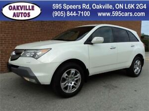 2009 Acura MDX PREMIUM BLUETOOTH 7 PASSENGER SAFETY WARNTY INCL