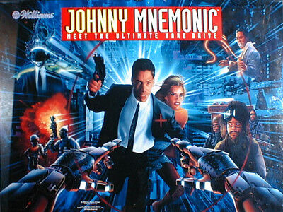 JOHNNY MNEMONIC Complete LED Lighting Kit custom SUPER BRIGHT PINBALL LED KIT