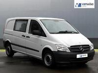 2012 Mercedes-Benz Vito 113 CDI DUALINER Diesel white Manual