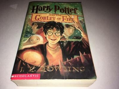 HARRY POTTER And The Goblet Of Fire - by J.K. Rowling Paperback VG+
