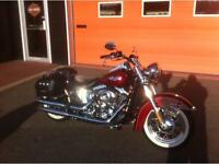 2010 Harley Davidson softail deluxe - only 6195 miles