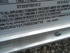 LOW PRICE CONSTRUCTION TRAILER 2017 ATLAS 6 X12 CARGO DISCOUNTED London Ontario image 6