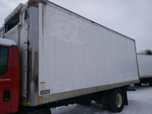 INSULATED TRUCK STORAGE BODIES