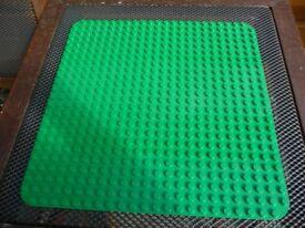 LARGE LEGO / DUPLO GREEN BUILDING BASE BOARD