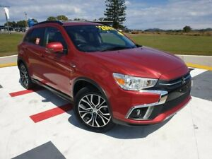 2017 Mitsubishi ASX XC MY18 LS 2WD Red 6 Speed Constant Variable Wagon Gympie Gympie Area Preview