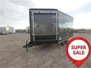 SUPER SALE! 8.5 X 16 DECKOVER SLED TRAILER BY FOREST RIVER!