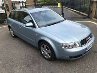 2004 Audi A4 Avant 1.9 TDI 130 SE Automatic with leather 90k miles diesel estate