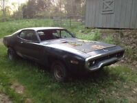 Wanted 71/72 Plymouth Roadrunner /Gtx