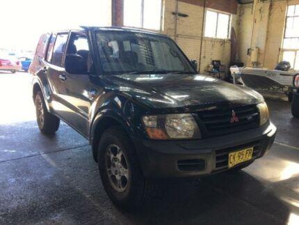 2001 Mitsubishi Pajero NM GLX Sports Automatic Wagon