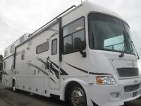 2009 GULFSTREAM BOUNTY HUNTER, TEN + BERTH, 16FT REAR GARAGE, RV FOR SALE