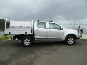 2013 Holden Colorado RG MY14 LT (4x4) Silver 6 Speed Manual Crew Cab Pickup Dapto Wollongong Area Preview