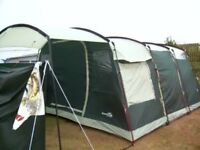 Skandika Saturn Tunnel 6 Man Tent 2009 - Camping