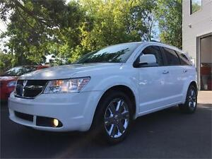 2010 DODGE JOURNEY R/T AWD V6 + 7 PASSAGERS + CUIR + NAVIGATION