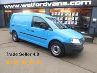 2010 Volkswagen Caddy Maxi 1.9TDi 102ps*A/C*Park/Sens* Diesel blue Manual