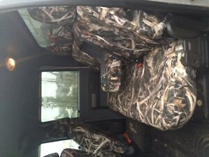 CAMO SEAT COVERS FOR A 2009-2016 FORD SUPER DUTY 40 20 40 SPLIT Strathcona County Edmonton Area image 2